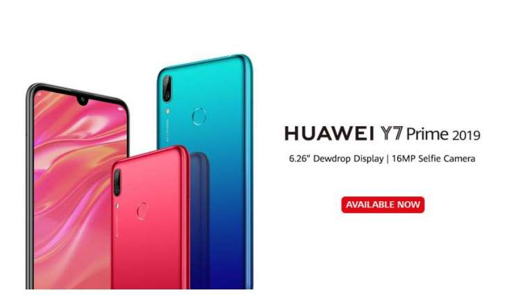 HUAWEI Y7 Prime 2019 Sweeps Pre-orders Goes On Sale | Pakistan Point
