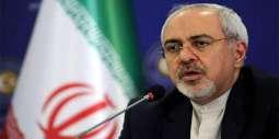 ظريف يؤكد استعداد إيران لدعم الدولة اللبنانية في كافة المجالات