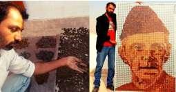 Karachi artist makes coin portrait of Quaid-e-Azam