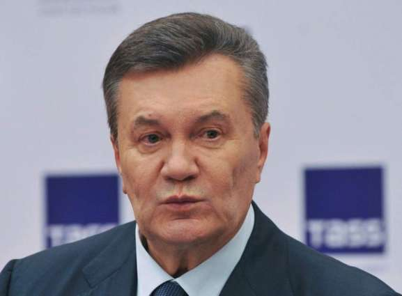 Ex-Ukrainian President Yanukovych Says Recently Returned to Russia After Medical Treatment