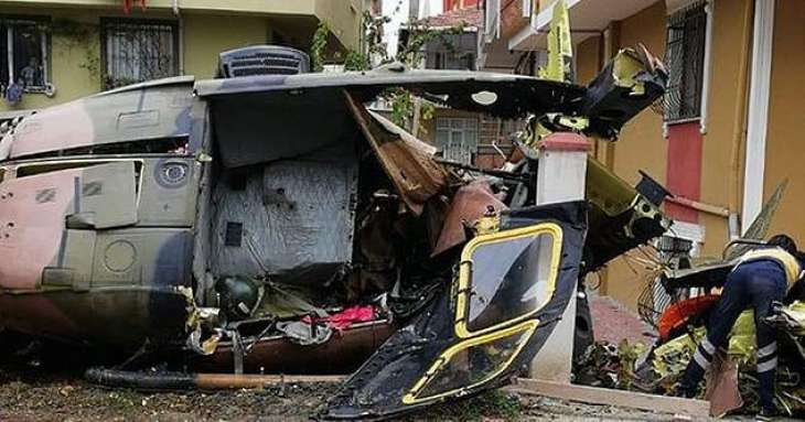 Military Helicopter Crashes in Istanbul, 4 People Injured - Governor
