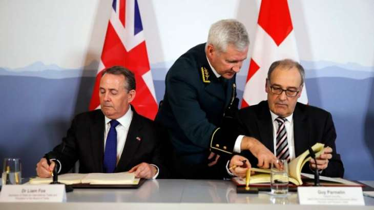 UK, Switzerland Sign Agreement to Continue Trading After Brexit As Before - Statement
