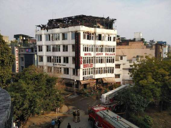 Death Toll in New Delhi Hotel Fire Up to 17 - Reports