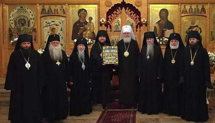 ROCOR Priest Visits Metropolitan Onufry in Kiev to Show Support Amid Autocephaly Crisis