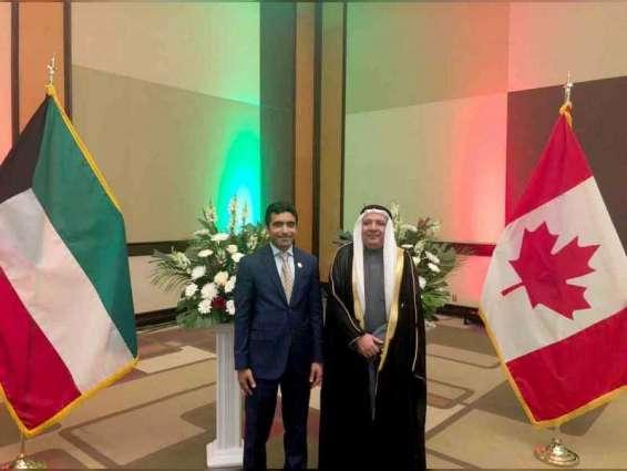 سفير الدولة يحضر الاحتفال باليوم الوطني الكويتي في أوتاوا