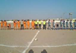 Hawks Bay United and Mubarak Village seal victory on the second day of PALS Football Tournament 2019