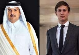 Kushner, Qatari Emir Discuss Trump's Plan for Israeli-Palestinian Settlement - US Embassy