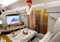 Emirates wins 'Favourite Middle East Airline Premium Cabin'