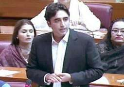 Bilawal Bhutto lashes out at govt's policies in National Assembly address