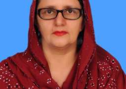 Relief Food package from Federal Minister for Defence Production Ms. Zubaida Jalal
