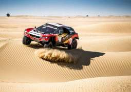 Al Qassimi makes flying start to Dubai World Cup Rally