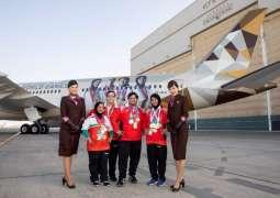 Etihad Airways flies Special Olympics Team US