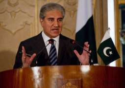 Foreign Minister Shah Mehmood Qureshi asks OIC, world community to take notice of India's belligerent behavior