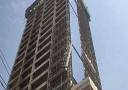Five dead as lift collapses at under construction building in Karachi