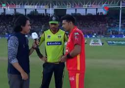 PSL-4: Lahore Qalanadars win toss against Islamabad United and decide to field first