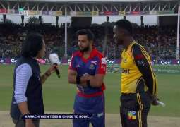 PSL-4: Karachi Kings win the toss and opt to field first against Peshawar Zalmi