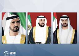 UAE leaders congratulate Mauritius Acting President on Independence Day