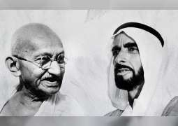Ministry of Culture and Knowledge Development inaugurates Zayed-Gandhi Digital Exhibition in Manarat Al Saadiyat