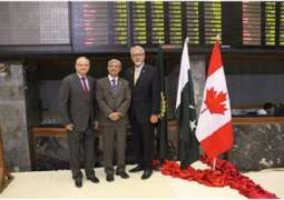 Canada-Pakistan Business Council delegation opens trading day at Pakistan Stock Exchange