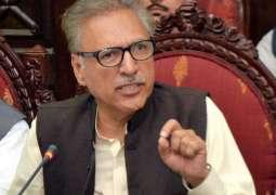 Pakistan wants complete revival of cricket on its soil: President Arif Alvi