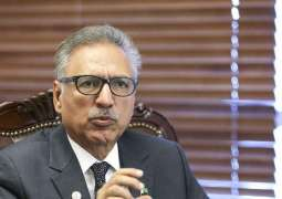Govt committed to eliminate corruption from country: President Dr. Arif Alvi