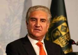 Foreign Minister Qureshi says dialogue, sole option for Pakistan, India to ensure peace in SA