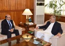 President AJK and Speaker National Assembly discuss matters of mutual interest