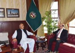 AJK President, KP Governor meet; discusses latest Kashmir situation