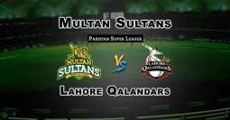 PSL 4: Eliminated Lahore Qalandars and Multan Sultans to play today