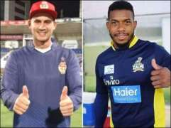 England's Alex Hales, Chris Jordan arrive in Karachi for PSL