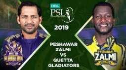 PSL-4: Quetta Gladiators set a target of 187 runs for Peshawar Zalmi