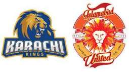 PSL-4 Eliminator: Karachi Kings win the toss against Islamabad United and decide to bat first