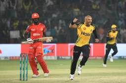 Peshawar Zalmi reach PSL-4 final after beating Islamabad United by 48 runs