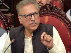 Pakistan wants complete revival of cricket on its soil: President Arif Alvi