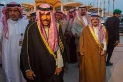 ولي عهد دولة الكويت يغادر الرياض