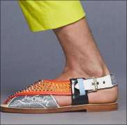 Louboutin launches Peshawari-style 'Imran sandal'