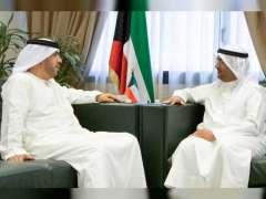وزير المالية الكويتي يستقبل سفير الدولة