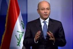 President of Iraq praises UAE support