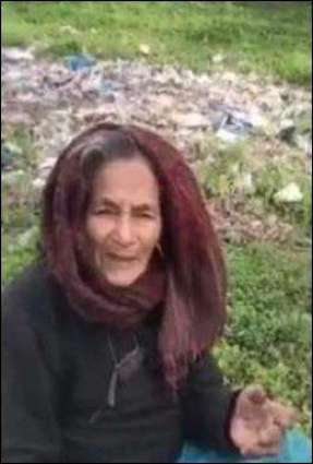 Old woman, forced to live in jungle, makes emotional appeal to PM Imran