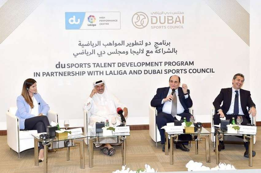 Dubai Sports Council And Du LaLiga Launch New Initiative To
