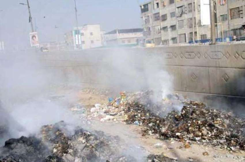 Burning trash is a common sight all across the country