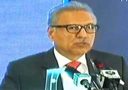 President Dr. Arif Alvi underlines govt. commitment to give women protection, due place