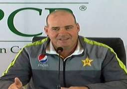 Mickey Arthur holds media conference in Lahore