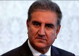 Qureshi regrets world silence over Indian atrocities in occupied Kashmir
