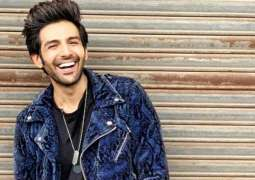 Kartik Aaryan on his ladder to success.