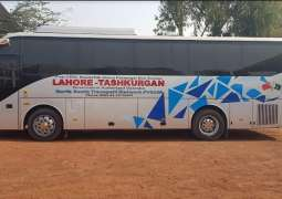 Pak-China bus service resumed in Lahore