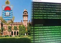 Personal data of female Punjab University students sold on deep web