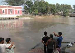 Three persons including grandfather, grandmother and grandson drown in canal