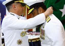 Naval Chief Conferred Military Awards Upon Pakistan Navy Personnel