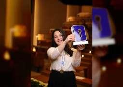 لبنى ناصر بطلة لبنان في تحدي القراءة العربي